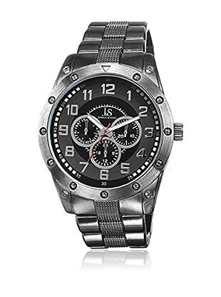 Joshua & Sons Uhr mit japanischem Quarzuhrwerk Man schwarz 45 mm