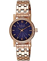 Giordano Analog Blue Dial Women's Watch - 2729-66