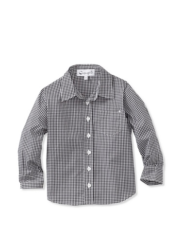 A for Apple Oxford Shirt (Black)