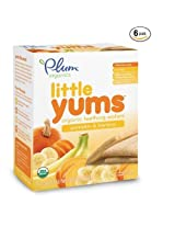 Plum Organics Little Yums - Pumpkin Banana - 3 oz - 6 pk