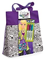 Style Me Up Large Tote Bag, Purple