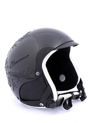 Carrera Casco de Esquí CA E00408 PERLA ACT BLACK SHINY LACE (negro)