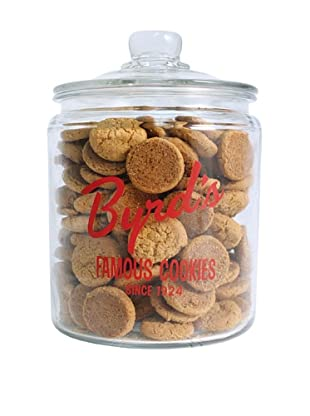 Byrd Cookie Company Logoed Jar with Oatmeal Cookies, 1lb