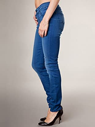 7 for all Mankind 5-Pocket Jeans Gwenevere Skinny Fit (dunkelblau denim)