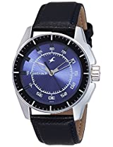 Fastrack Black Magic Analog Blue Dial Men's Watch - NE3089SL01