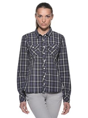 Timberland Camisa Quadretti (Gris / Marrón)