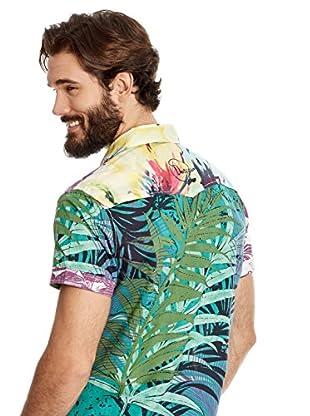 Desigual Camisa Hombre Finito Rep