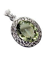 Admyro Designer silver pendant-Celebrity look designer pendant-Modern designer -AZP 676