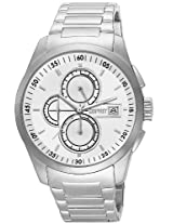Esprit Chronograph White Dial Men's Watch - ES104091004