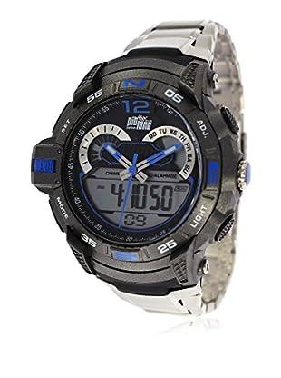 Pit Lane Uhr Pl-2007-4 weiß 50 mm