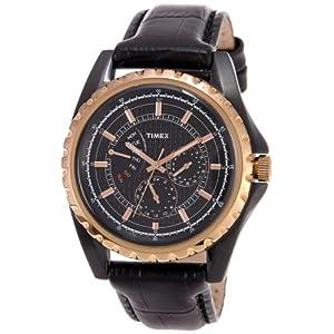 Timex E Class Analog Black Dial Men's Watch - T2N113
