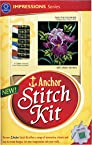 Anchor Stitch Kit - Mauve Flower