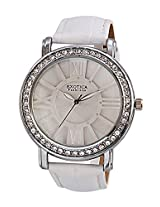 "Exotica Ladies Watch EFâÂ?Â"" 70, white, white"