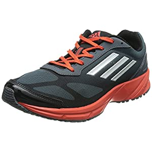 Lite Pacer M Dark Onyx,   Metsil and Hirere Mesh Running Sports Shoes by Adidas For Men - UK Size 11