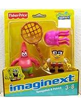 SpongeBob Squarepants Imaginext Exclusive Mini Figure 2Pack SpongeBob Patrick