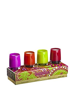 Modern Alchemy Bright Gift Candle, Assorted Set of 4
