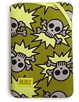 BUILT Kindle Fire Neoprene Twist Sleeve Skeleton Army Olive