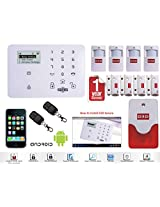 """SECURITY SYSTEM WIRELESS GSM AUTO DIAL HOME HOUSE OFFICE BURGLAR INTRUDER ALARM """