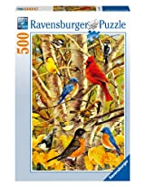 Autumn Birds Jigsaw Puzzle, 500-Piece