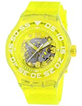 Jacob Time SUUJ101 Swatch Lemon Profond Unisex Watch