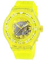 Jacob Time SUUJ101 Swatch Lemon Profond Unisex Watch