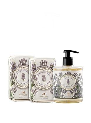 Panier des Sens 3-Piece Relaxing Lavender Liquid Soap and Vegetable Soaps