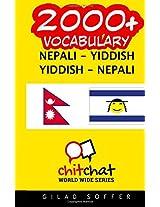 2000+ Nepali - Yiddish Yiddish - Nepali Vocabulary