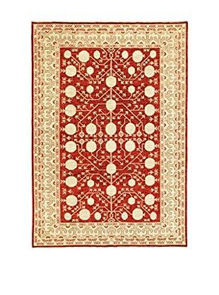 Eden Teppich Anar Gul rot/beige 212 x 292 cm