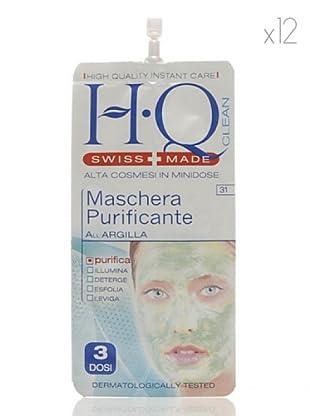 HQ Kit De 12 Productos Mascarilla Purificante 15 ml cad.
