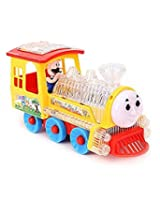 smiles creation Bump & Go Funny Locomotive with light and music.