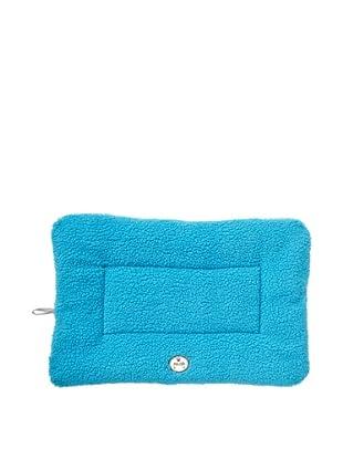 Pet Life Eco-Paw Reversible Pet Bed (Blue and Aqua Blue)
