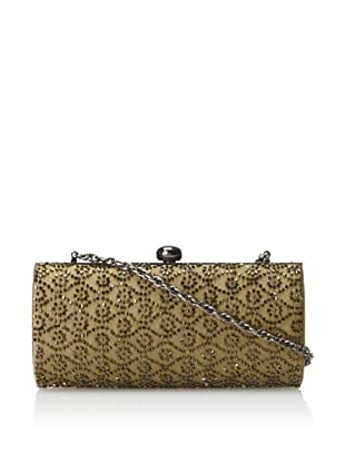 Inge Christopher Women's Beaded Wallpaper Clutch (Bronze)