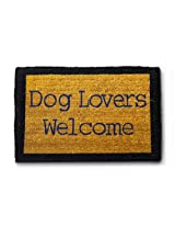 Dog Lovers Welcome Doormat