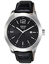 Esprit Analog Black Dial Men's Watch - ES105851001