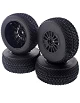 Team Associated 1/10 Pro Sc Pro Lite * Sc10 Rs Tires, Wheels & Foams 12mm Hex Rim