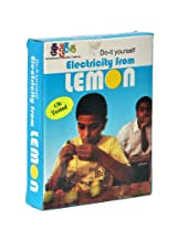 Electricity From Lemon battery Kit . Do It Yourself . Working Model . Educational Learning Toy . School Project . Physics Electronics Science Activity Kit . DIY