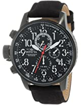 """Invicta Men's 1517 I """"Force"""" Collection Stainless Steel and Cloth Strap Watch"""