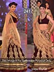 Bollywood Replica Shilpa Shetty Net and Moss Velvet Lehenga In Brown and Gold Colour NC304