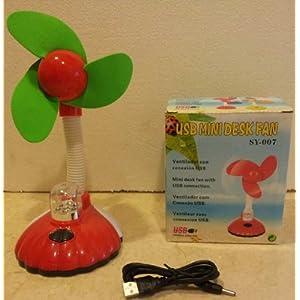Goyal USB Desk Fan with Light SY-007