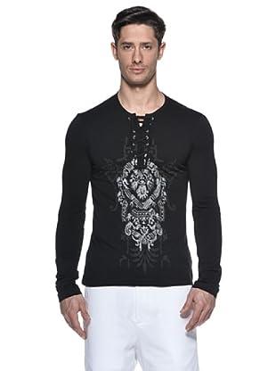 Just Cavalli Camiseta Immanuel (Negro)