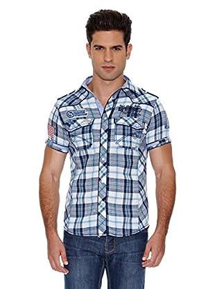 Eagle Square Camisa Carreaux (Gris / Blanco)