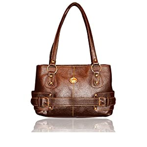 Fostelo Oliva Brown Colour Fashion Handbag