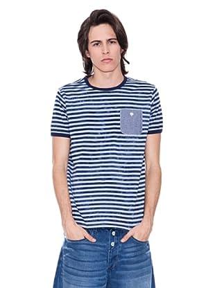 Gio Goi Camiseta Escalibor (gris / azul)