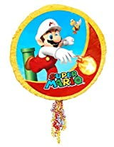 Aztec Imports Inc - Super Mario Party Pull-String Pinata