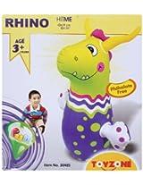 Toyzone - Hit Me In Rhino Shape Toy Green