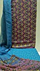 Rajasthani Hand Block Prints every day wear Purple
