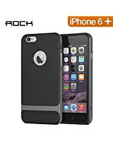 Mapco Rock Royce Back Case for Apple Iphone 6 Plus - Black