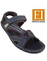 Franco Leone Men'S Sandal 9546 Brown