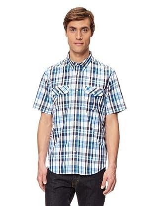Timberland Camisa Harmon (Blanco / Azul Celeste / Azul)