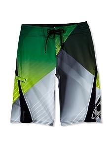 O'Neill Boy's 8-20 Lopez Freak Boardshort (Green)